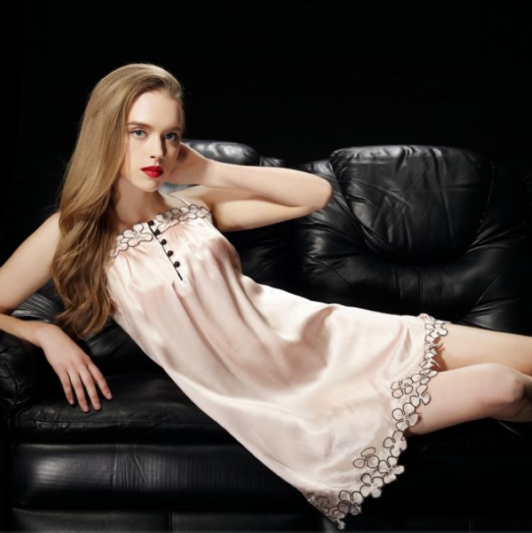 Женские ночные сорочки и Рубашки женские джинсовые рубашки 2014