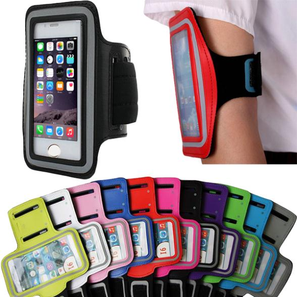 6 6S Workout Arm Band Holder Pouch Durable PU Leather Case For iPhone 6 6S 4.7 Inch Nylon Sports Phone Back Cover for iPhoen6(China (Mainland))