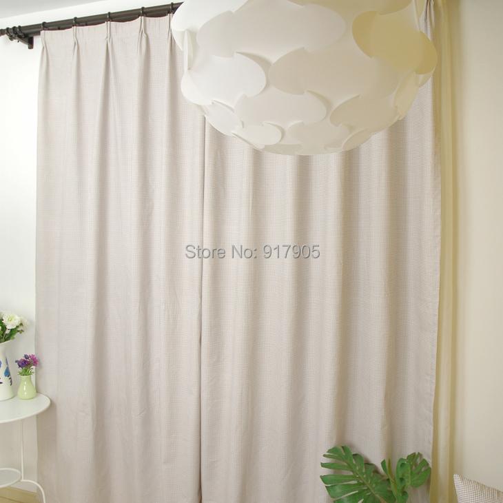 Designer Gingham Print Bedroom Short Curtains Elegant Living Room Curtains Mo