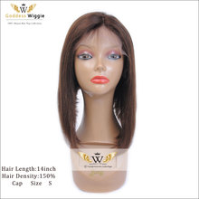 Brown Human Hair Lace Front Wigs Light Yaki Short Haircut Wigs Bob Glueless Kinky Straight Hair Lace Front Wigs With Baby Hair(China (Mainland))