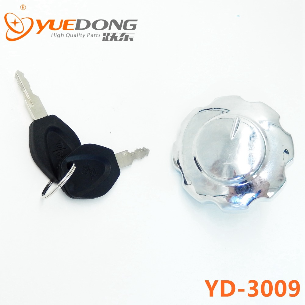 Free Shipping YUEDONG motorcycle scooter gas tank cap fuel tank cap switch CG125 XF125 for Honda 125cc CG 125 electric parts(China (Mainland))