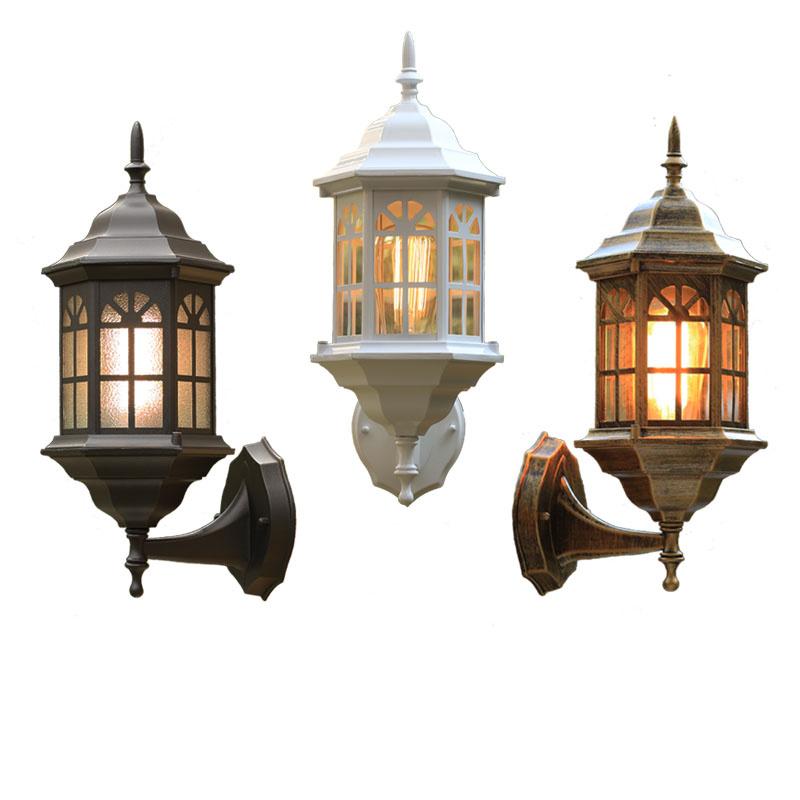 Achetez en gros mur ext rieur lanterne en ligne des for Lanterne eclairage exterieur