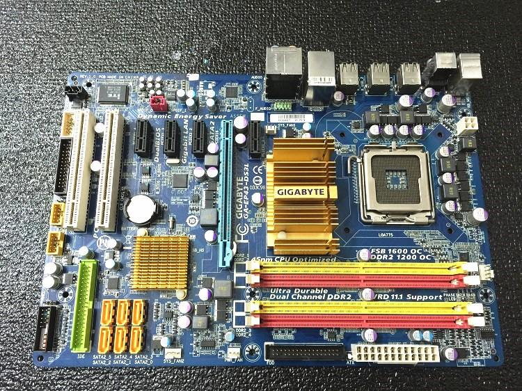 original desktop motherboard for gigabyte ga ep43 ds3l lga775 ddr2 rh sites google com
