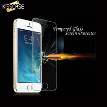 Buy KISSCASE iPhone 5S SE Tempered Glass Screen Protector iPhone SE 5S 5C 5G Protective Guard Flim Explosion-proof Screen for $2.99 in AliExpress store