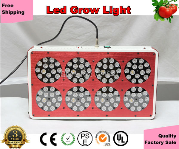 Full Spectrum 280W Led Apollo8 Grow Light Flowering Hydroponic Indoor Lamp Plant Grow 1000W HPS Replacement(China (Mainland))