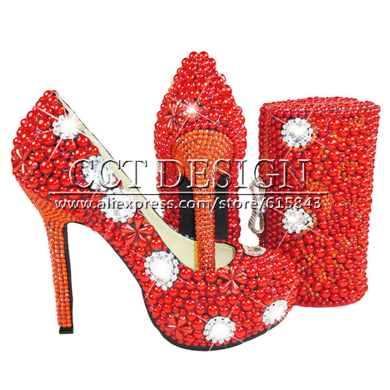 Popular Red Sparkly Shoes for Women-Buy Cheap Red Sparkly Shoes