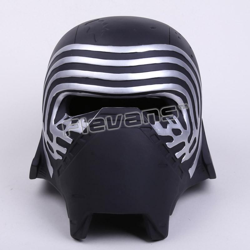 Star Wars Kylo Ren Grownup Cosplay Masks Helmet 1:1 Resin Motion Determine Collectible Mannequin Toy