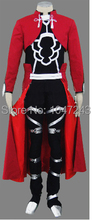 Nouveau Arrivel Fate Stay Night Archer Cosplay Rouge Hommes Fate Stay Night Cosplay Costume