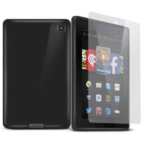 """1pc Soft TPU Case 2014 Kindle Fire Hd 6 6"""" soft Cover Matt"""