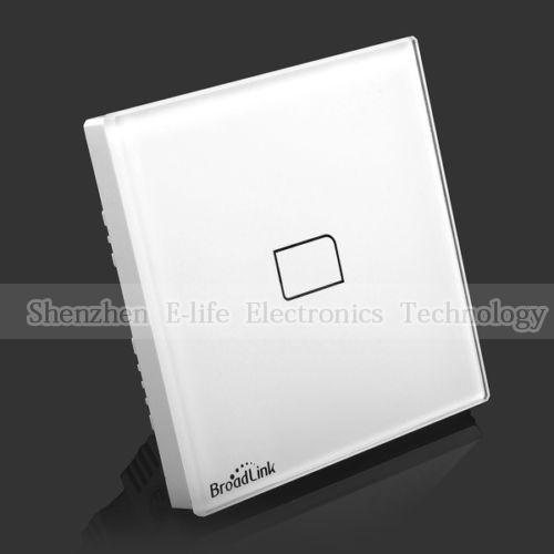Гаджет  Broadlink TC1 Wireless 1 Gang Wifi Remote Control Wall Light Touch Screen Switch Smart Home Automation AC110v~250V Android IOS None Электротехническое оборудование и материалы