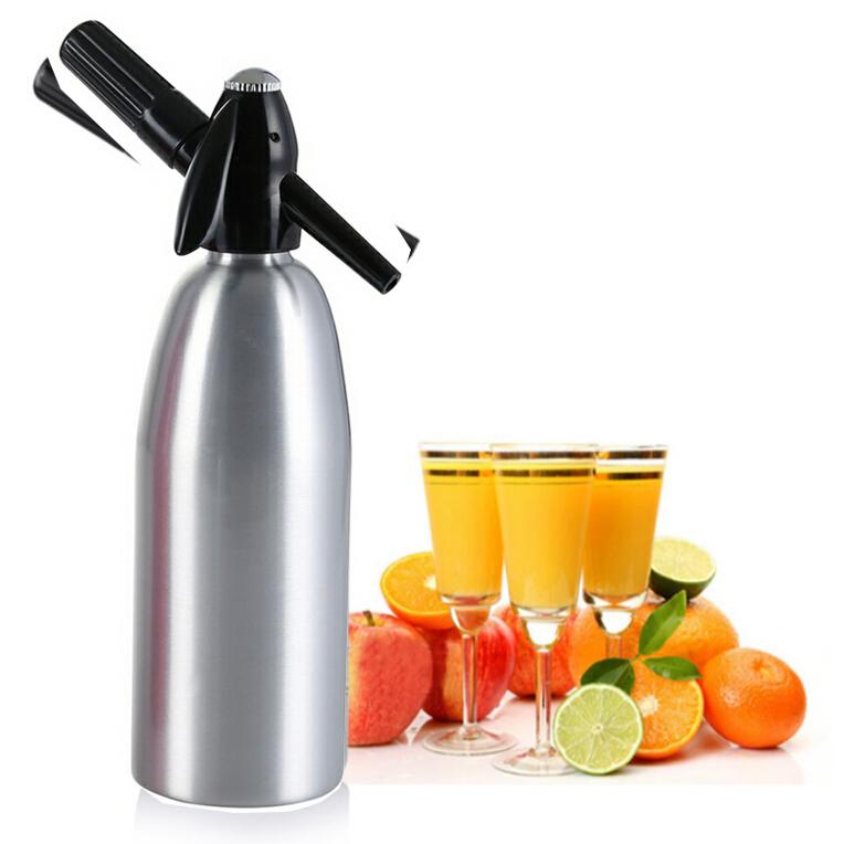 Soda Machine 1000ml Syphon Siphon Maker Bar Home Brew
