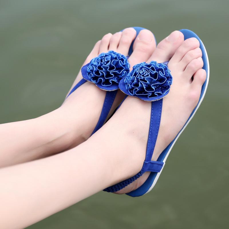 free shipping New Summer Shoes Woman Sandals Women Sandal for Women flip flops Flat sandal women Fashion beach slipper 13