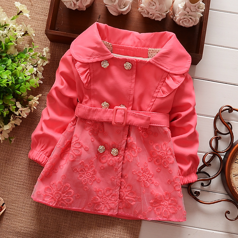retail 2014 new autumn & winter children clothes kids outwear baby girl cotton coat and jackets child clothing xym1180(China (Mainland))