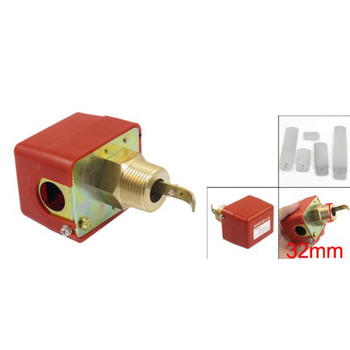 2015 SZS Hot AC 220V 15A Male Thread SPDT Water Paddle Flow Switch HFS-25<br><br>Aliexpress