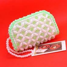 Бесплатная доставка новинка короткие женщины кошельки акриловые имитация-жемчужные круглые молния мини повелительницы клатч портмоне ключи сумка(China (Mainland))
