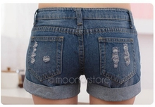 Lady Denim Shorts Women s Jeans Shorts Hot Sale Ladies Short Pants PlusSize S M L