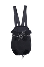 solid color mesh cloth chest pet bag free shipping