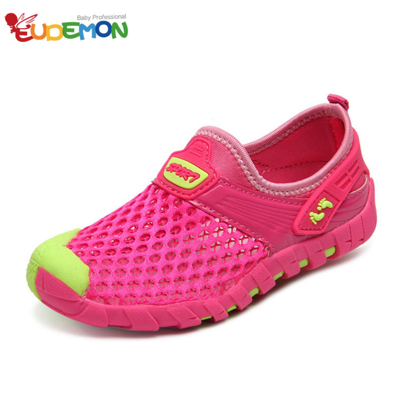 [Eudemon] Brand Lightweight Girls Boys SportShoes Children Breathable Sneakers Running Shoes Casual Outdoor Walking Sneakers(China (Mainland))