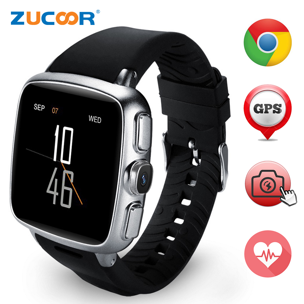 Heart Rate Smart Watch Wristwatch Reloj Inteligente Z01 Support 3G SIM TF Card WIFI GPS MP3 MP4 Fitness Traker Bluetooth Camera(China (Mainland))