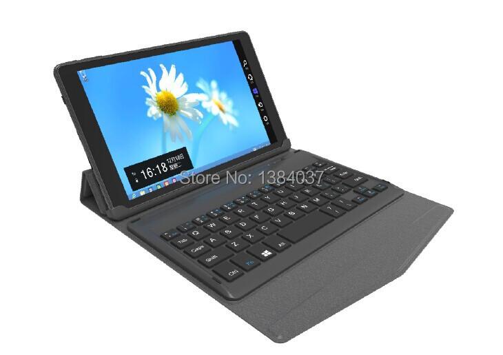 Free shipping 8 inch Laptops Window8.1 Quad-core 2G 32G 1280x800 IPS Grey Bluetooth Keyboard BT88(China (Mainland))