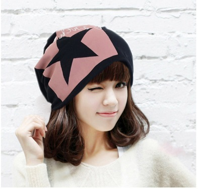 4 Colors New Fashion Spring Fall Winter Women Beanies Cashmere Warm Soft Knit Cap Spring Autumn Winter Hats Stars Cap #79084(China (Mainland))