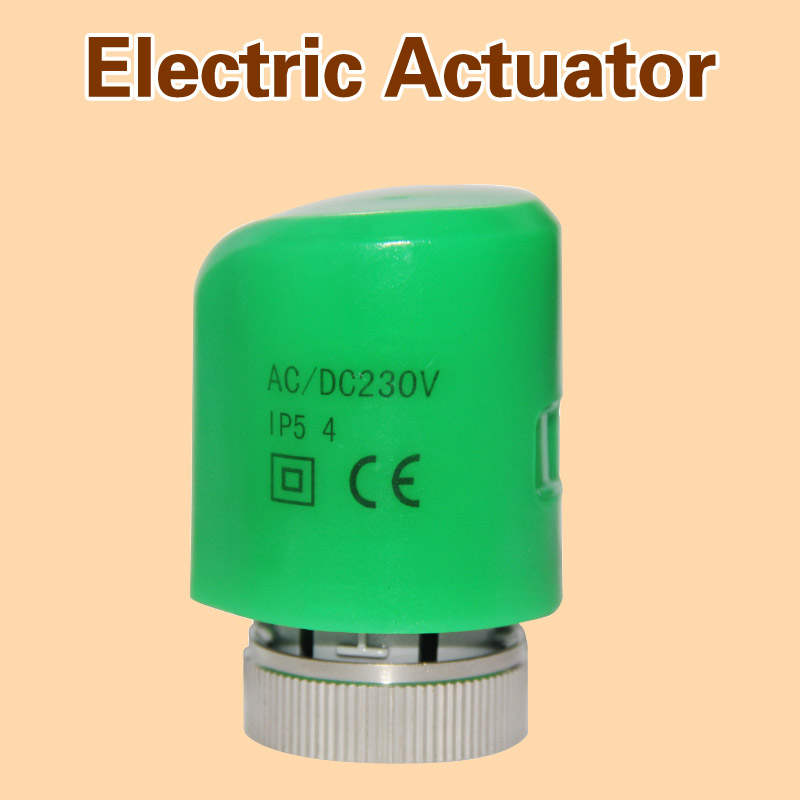 Normally Open Thermal Electric Actuator for Manifold in flooring Heating System parts 230V normally close underfloor(China (Mainland))