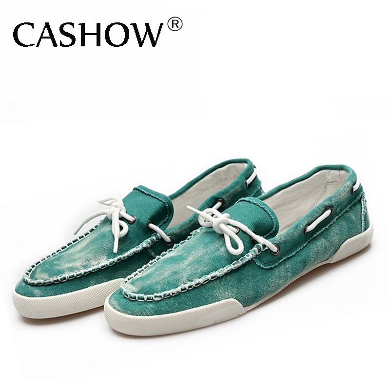 Fashion Mens Zapato Del Boat Casual Shoes Jeans Canvas Slip On Flats Loafer shoes free shipping LS014