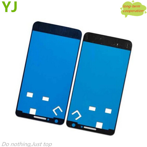 10 pieces/lot Free shipping Front Housing Frame Bezel Plate Adhesive Sticker OEM Parts for Samsung Galaxy S2 i9100 i9105(China (Mainland))