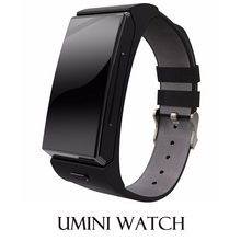 New Bluetooth Smart Watch Umini Smartwatch BT Headset Pedometer Music Player Bluetooth Heart Rate for Android IOS Smart Phone(China (Mainland))
