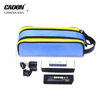 Buy CADeN Stereo Bag Lens Bags Flash Light Pouch Digital Camera Case Soft Canvas Bag Canon Nikon Y1 for $7.99 in AliExpress store