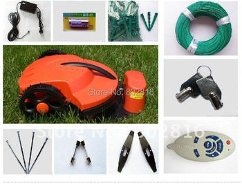 Virtual Wire 300m,Auto Robot  Mower +CE&ROHS+Li-ion Battery+Auto recharged+Free Shipping