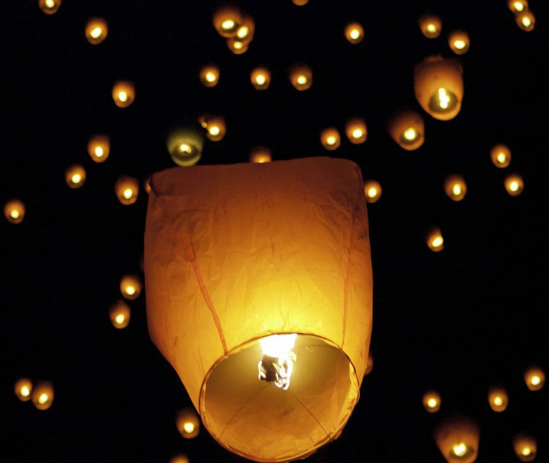 5pcs/lot Chinese Kongming Wishing Lantern Flying Sky Balloon Lantern Paper Lantern Lamp Chinese Sky Lanterns -45(China (Mainland))