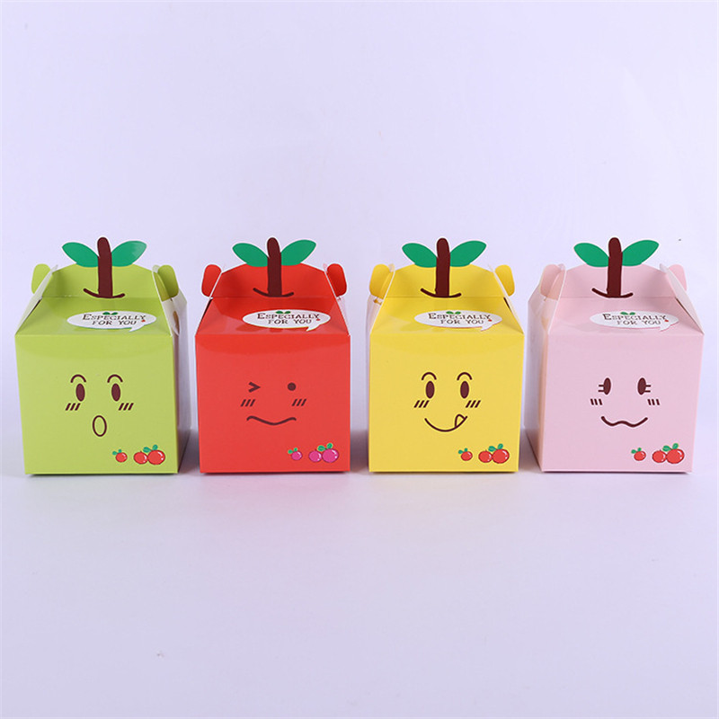 50 Pcs/lot Candy Box Gift Box Favor Cupcake Box Boy Kids Birthday Party Supplies Decoration Event Party Supplies(China (Mainland))