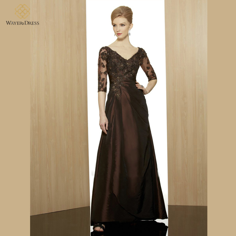 Plus Size Designer Mother Of Groom Dresses 5