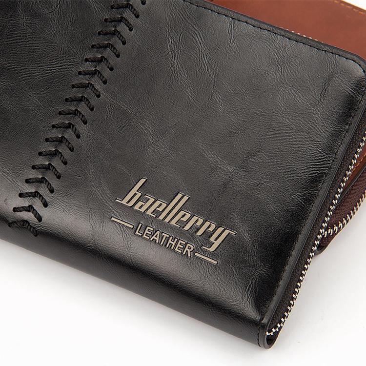 Baellerry деловой мужской клатч кожаный длинный держатель для карт кошелек мужчин 3290931551_1672417541
