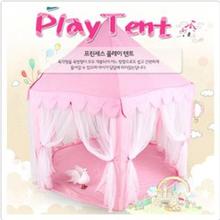 Южная Корея Шесть Большой Угол Замок Принцессы Тюль Детей Игрушки Дом Большая Игровая Комната Продажи Москитная Палатка Головоломка Палатку Игрушка
