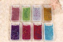 Clear Dynamic Liquid Water Glitter Paillette Sand Quicksand Star Cover Case for Samsung GALAXY S3 SIII i9300 fundas Phone cases(China (Mainland))