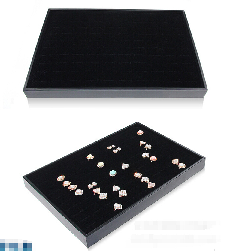 35*24*3cm Jewelry Display Jewellery Box Empty Dish Jewelry Packaging Jewelry Holder Jewelry Stand And Boxes Wholesale Black(China (Mainland))