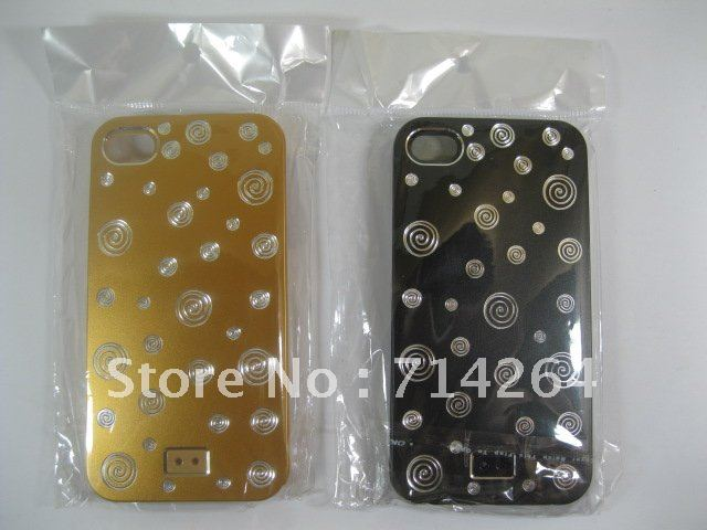 METAL+PC CASE FOR IPHONE4/IPHONE 4S DESIGN circle