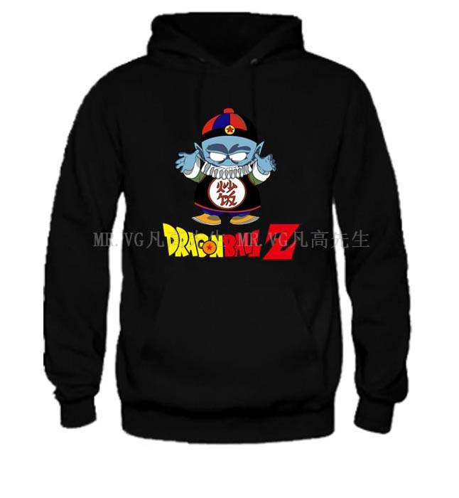 DBZ Lord Pilaf fried rice Emperor Pilaf Dragon Ball Z Japanese basketball man sports hoodies(China (Mainland))