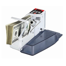 Portable Mini Handy Money Counter Euro Currency Cash Bill Counting Machine AC100-240V Financial Equipment Bill Counters(China (Mainland))