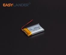 Buy 5x18x30mm 3.7V 230mAh Rechargeable li Polymer Li-ion Battery bluetooth headset mouse Bracelet Wrist Watch 501830 051830 for $5.39 in AliExpress store