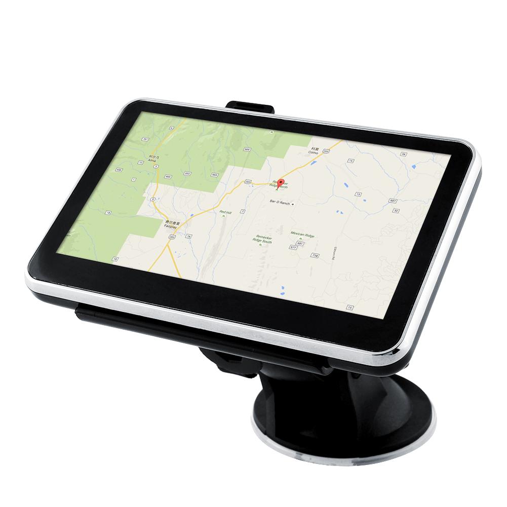 New 4.3'' Inch 128MB 4GB FM Touch Car Portable GPS Navigation Navigator Roadmate SAT NAV NA Free Maps(China (Mainland))