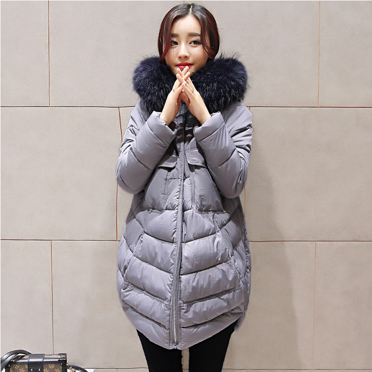 Cotton padded jacket women winter clothing large size Winter long wadded coat women's cotton warm thick womens parka TT226