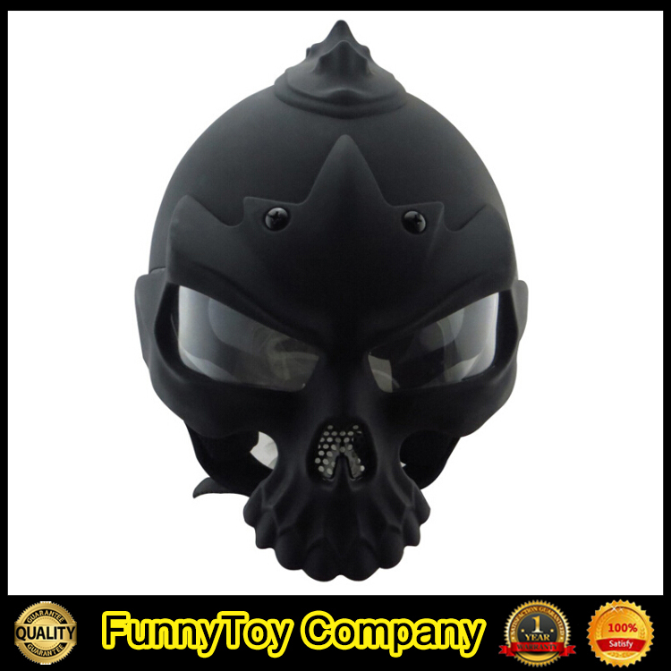white Black Skull bone Motorcycle Helmet Popular Cool Skeleton Helmet bone mask Casco Casque(China (Mainland))