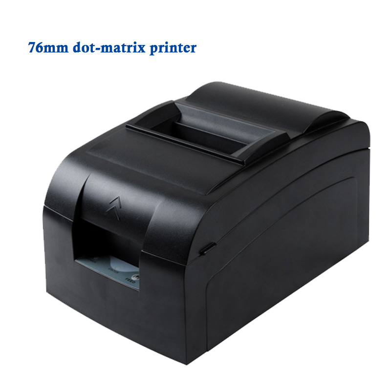 Freeship by DHL(1 pcs) 76MM( USB interface) Impact Dot-matrix receipt printer with International language,Compatible ESC/POS<br><br>Aliexpress