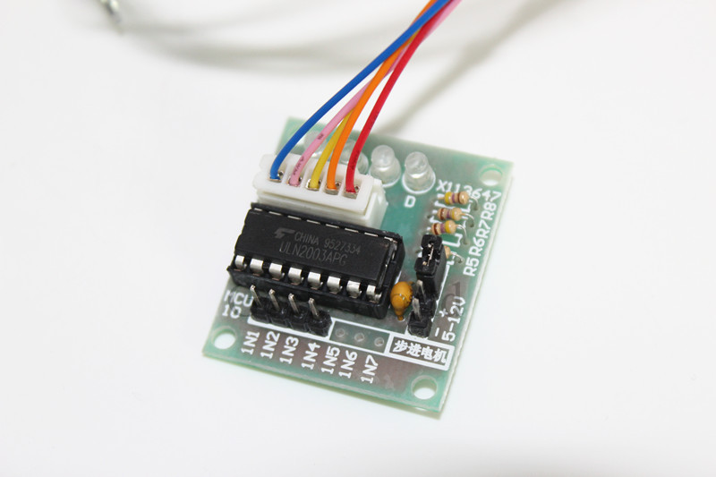Arduino Library for 28BYJ-48 Stepper Motor and ULN2003