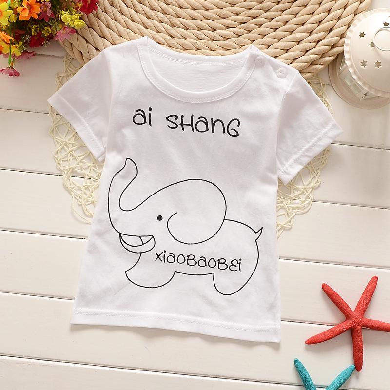 Boys T Shirt Peppa Pig Kids Summer Clothing Faze T Shirt Minecraft Minions Baby Children Batman T-shirts for Girls Cotton Wqy(China (Mainland))