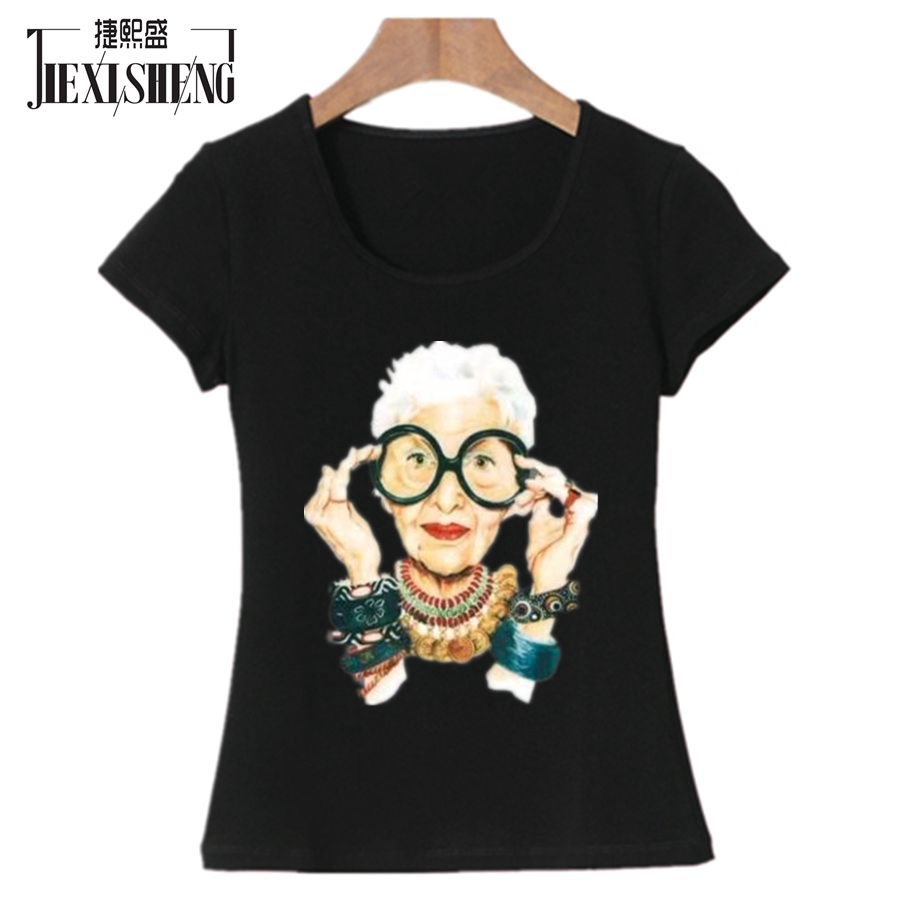 Plus Size Character Print Women T shirt Summer cute Funny T-shirt Cotton Short Sleeve Tops harajuku Brand Clothing tshirt