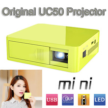 original uc50 DLP mini Projector Full HD 1080P Home theater projecting camera LED video home unic UC50(China (Mainland))